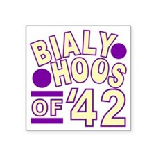 "bialyhoos Square Sticker 3"" x 3"""