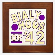 bialyhoos Framed Tile