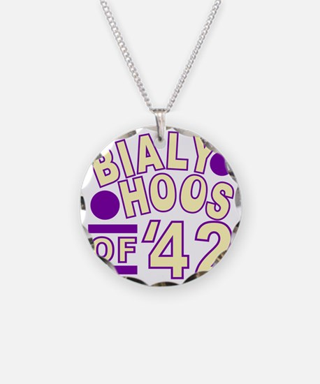 bialyhoos Necklace Circle Charm