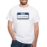 Feeling malcontent White T-Shirt