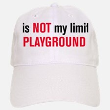 playground black and red Baseball Baseball Cap