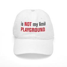 playground black and red Baseball Cap