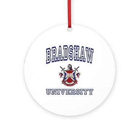 BRADSHAW University Ornament (Round)