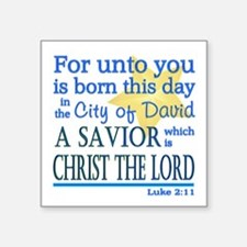 Luke 2:11 Sticker