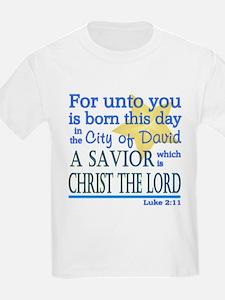 Luke 2:11 T-Shirt