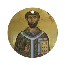 St. Thomas Becket Round Ornament