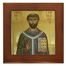 St. Thomas Becket Framed Tile