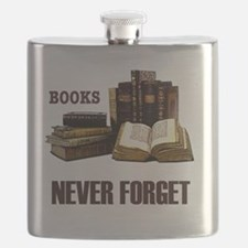 Never Forget Books-1 Flask