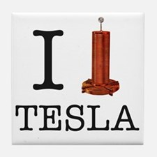 Tesla-1 Tile Coaster