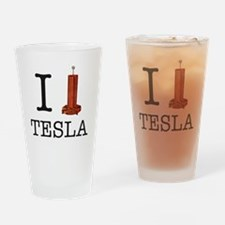 Tesla-1 Drinking Glass