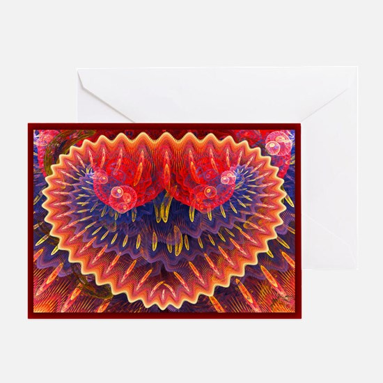 Abstract 224 Greeting Cards