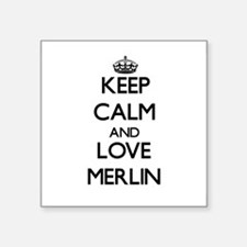 Keep Calm and Love Merlin Sticker