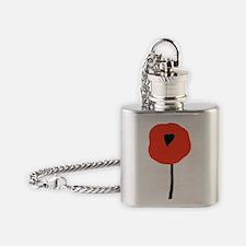 PoppyLOGO Flask Necklace
