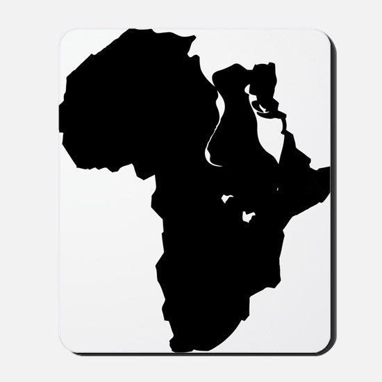 Africa and Man Mousepad