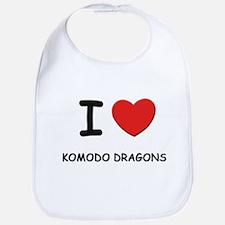 I love komodo dragons Bib