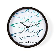 tricolour Wall Clock