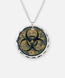 biohaz-thorn-T Necklace Circle Charm