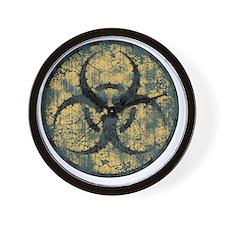 biohaz-thorn-T Wall Clock