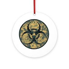 biohaz-thorn-T Round Ornament