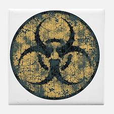 biohaz-thorn-T Tile Coaster