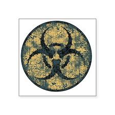 "biohaz-thorn-T Square Sticker 3"" x 3"""
