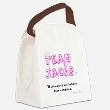 Team Jacob - by Naughty Onigiri Canvas Lunch Bag