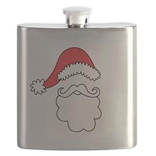 Santa Hat & Beard Flask