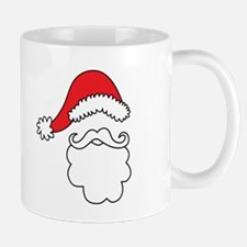 Santa Hat & Beard Mugs