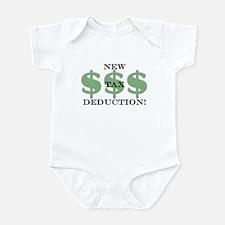 New tax deduction baby Infant Bodysuit