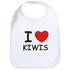 I love kiwis Bib