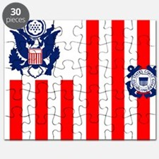 3-USCG-Flag-Ensign-Full-Color Puzzle