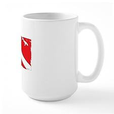 Dive flag #4 Mug