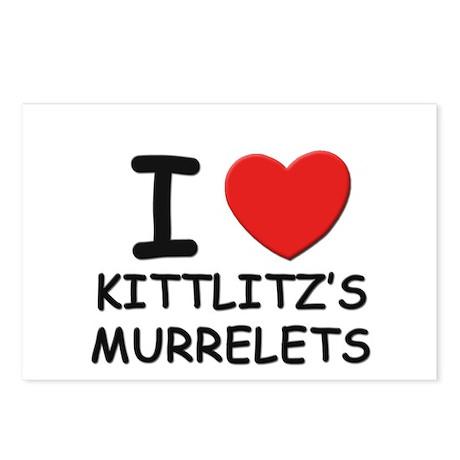 I love kittlitz's murrelets Postcards (Package of