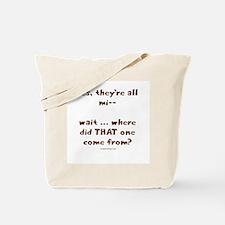Strange kid Tote Bag