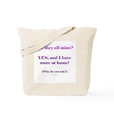 More at home Tote Bag