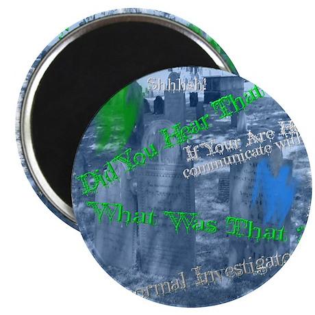 Coaster Ghost Adventures Magnet