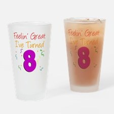 8 Years Old Drinking Glass