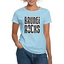 Brunei Rocks Women's Pink T-Shirt
