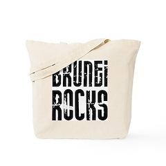 Brunei Rocks Tote Bag