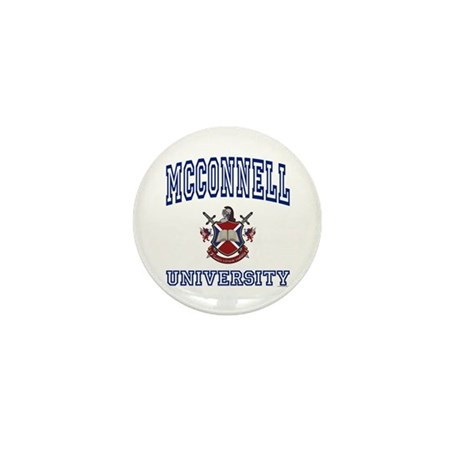 MCCONNELL University Mini Button (10 pack)