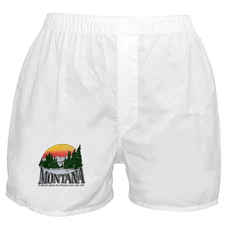 Cold Montana Boxer Shorts