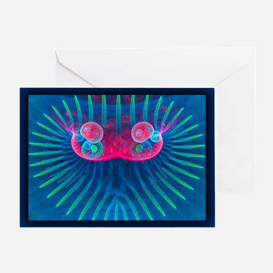 Abstract 514 Greeting Cards