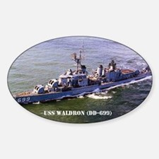 waldron sticker Sticker (Oval)