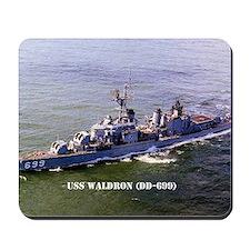 waldron greeting card Mousepad