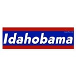 Idahobama Bumper Sticker for 2008