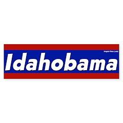 Idahobama Bumper Sticker for 2008