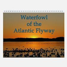 Waterfowl Of The Atlantic Flyway Wall Calendar