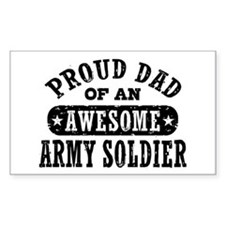 Proud Army Dad Decal
