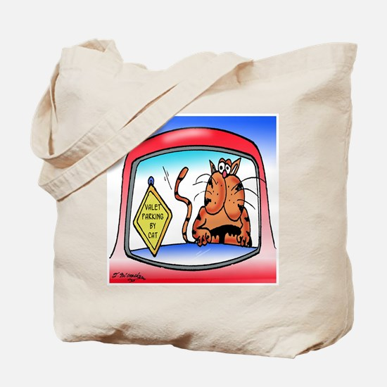 Valet Parking by Cat Tote Bag