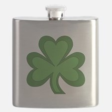 Shamrock St Patrick's Day Flask